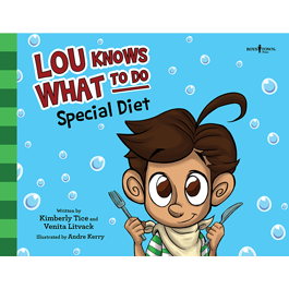 Lou Knows What to Do - Special Diet by Venita Litvack and Kimberly Tice Item #60-002