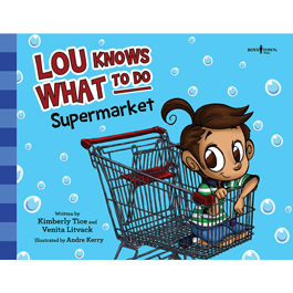 Lou Knows What to Do - Supermarket by Venita Litvack and Kimberly Tice Item #60-001